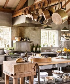 Stylish French Country Kitchen Decor Ideas 50