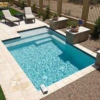 Amazing Natural Small Pools Design Ideas For Backyard 07