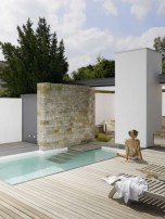 Amazing Natural Small Pools Design Ideas For Backyard 13