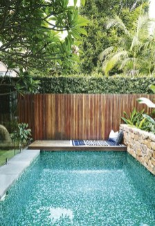 Amazing Natural Small Pools Design Ideas For Backyard 31