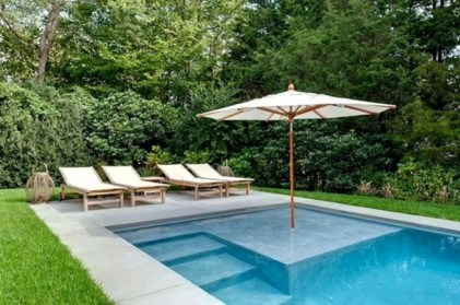 Amazing Natural Small Pools Design Ideas For Backyard 47
