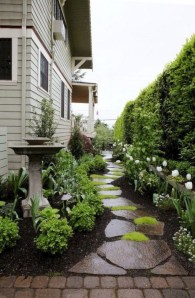 Brilliant Rock Garden Landscaping Ideas For Front Yard 38