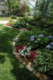 Brilliant Rock Garden Landscaping Ideas For Front Yard 58