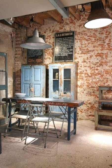 Cool Industrial Table Design Ideas 21