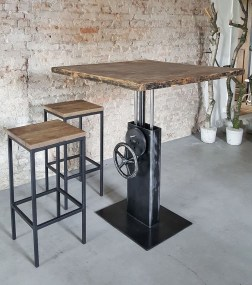 Cool Industrial Table Design Ideas 26