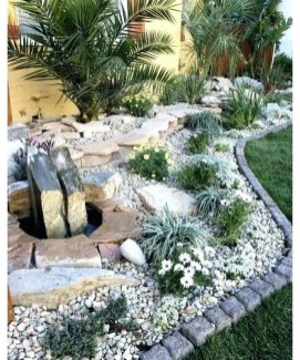 Fantastic Front Yard Rock Garden Ideas 01