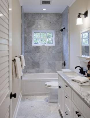 Gorgeous Small Bathroom Remodel Ideas On A Budget 52