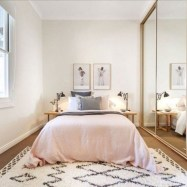Minimalist Bedroom Decorating Ideas For Small Spaces 29