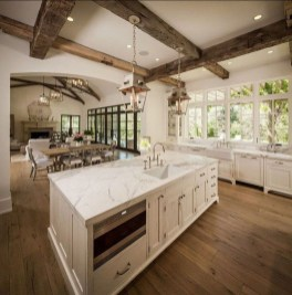 Stunning Country Farmhouse Design Ideas For Kitchen 39