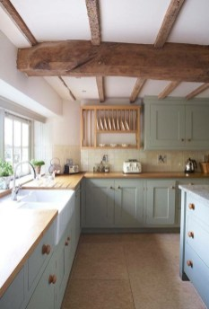 Stunning Country Farmhouse Design Ideas For Kitchen 42