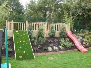 Awesome Frontyard Garden Design Ideas For Kids Playground Playground 20