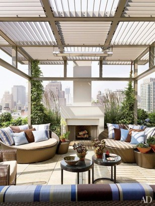Cool Terrace Design Ideas 44