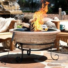 Creative Build Round Firepit Area Ideas For Summer Nights 14