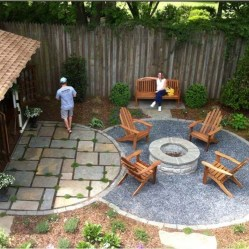 Creative Build Round Firepit Area Ideas For Summer Nights 17