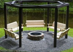 Creative Build Round Firepit Area Ideas For Summer Nights 33