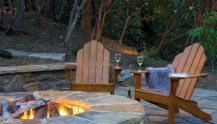 Creative Build Round Firepit Area Ideas For Summer Nights 42