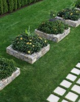 Fancy Garden Bed Borders Ideas For Vegetable And Flower 12