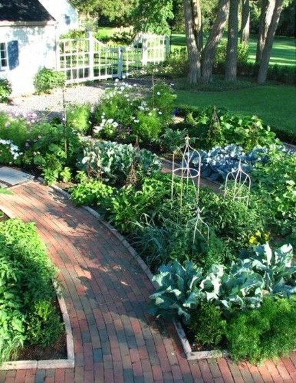 Fancy Garden Bed Borders Ideas For Vegetable And Flower 24