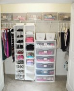 Inexpensive Bedroom Organization Ideas On A Budget 47