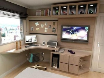 Lovely Small Home Office Ideas 03