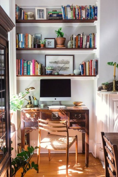 Lovely Small Home Office Ideas 33