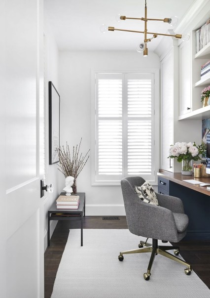 Lovely Small Home Office Ideas 36