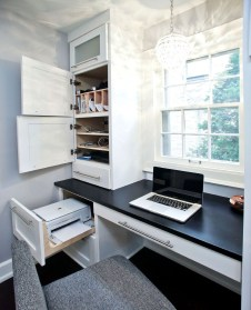 Lovely Small Home Office Ideas 51