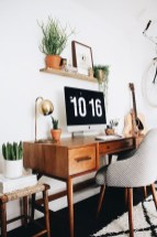 Lovely Small Home Office Ideas 53