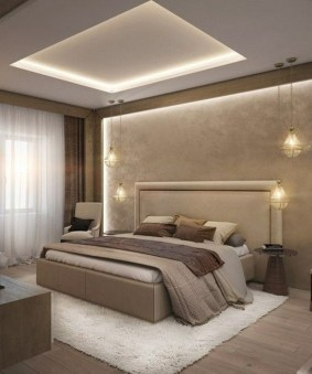 Popular Lighting Design Ideas For Bedroom Looks Beautiful 18