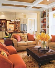 Wonderful Family Room Design Ideas That Comfortable 12