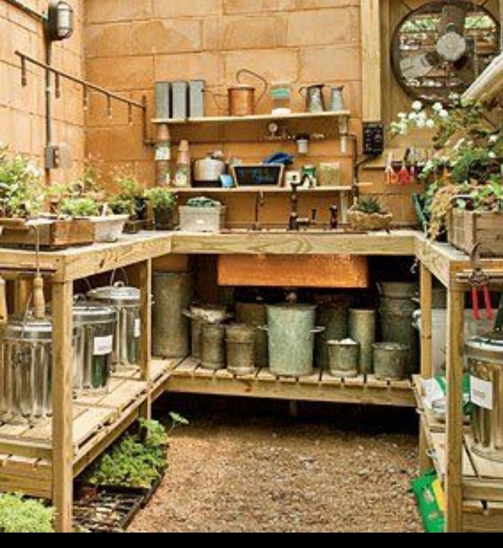 Adorable Garden Shed Organisations Ideas For Garden Looks Modern 29
