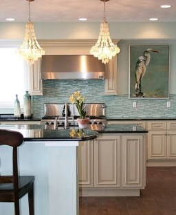 Atttractive Coastal Kitchen Design Ideas That Always Look Great 25