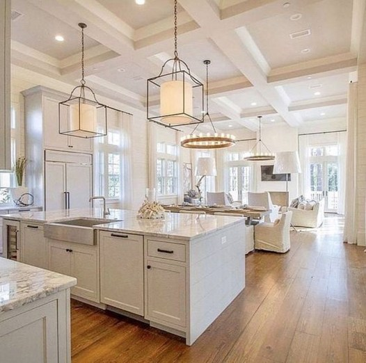 Atttractive Coastal Kitchen Design Ideas That Always Look Great 31