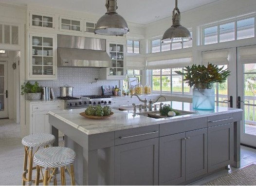 Atttractive Coastal Kitchen Design Ideas That Always Look Great 32