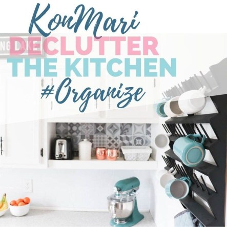 Best Ideas To Declutter Kitchen With The Konmari Method 25