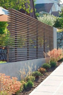 Charming Privacy Fence Ideas For Gardens 02