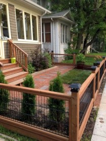 Charming Privacy Fence Ideas For Gardens 44
