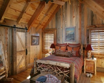 Comfy Wooden Cabin Bedroom Design Ideas For Summer Holiday 06
