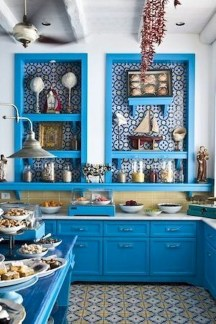 Cool Colorful Kitchen Decor Ideas For Summer 01