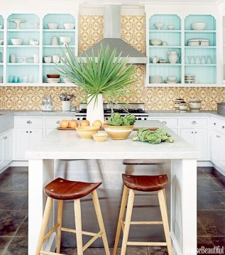 Cool Colorful Kitchen Decor Ideas For Summer 07