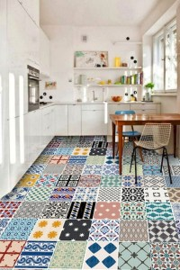 Cool Colorful Kitchen Decor Ideas For Summer 18