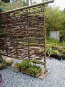 Cool Garden Fence Decoration Ideas To Try This Year 05