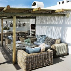 Cozy Home Terrace Design Ideas For Summer To Try Nowaday 17