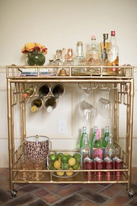 Elegant Mini Bar Design Ideas That You Can Try On Home 34