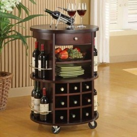 Elegant Mini Bar Design Ideas That You Can Try On Home 52