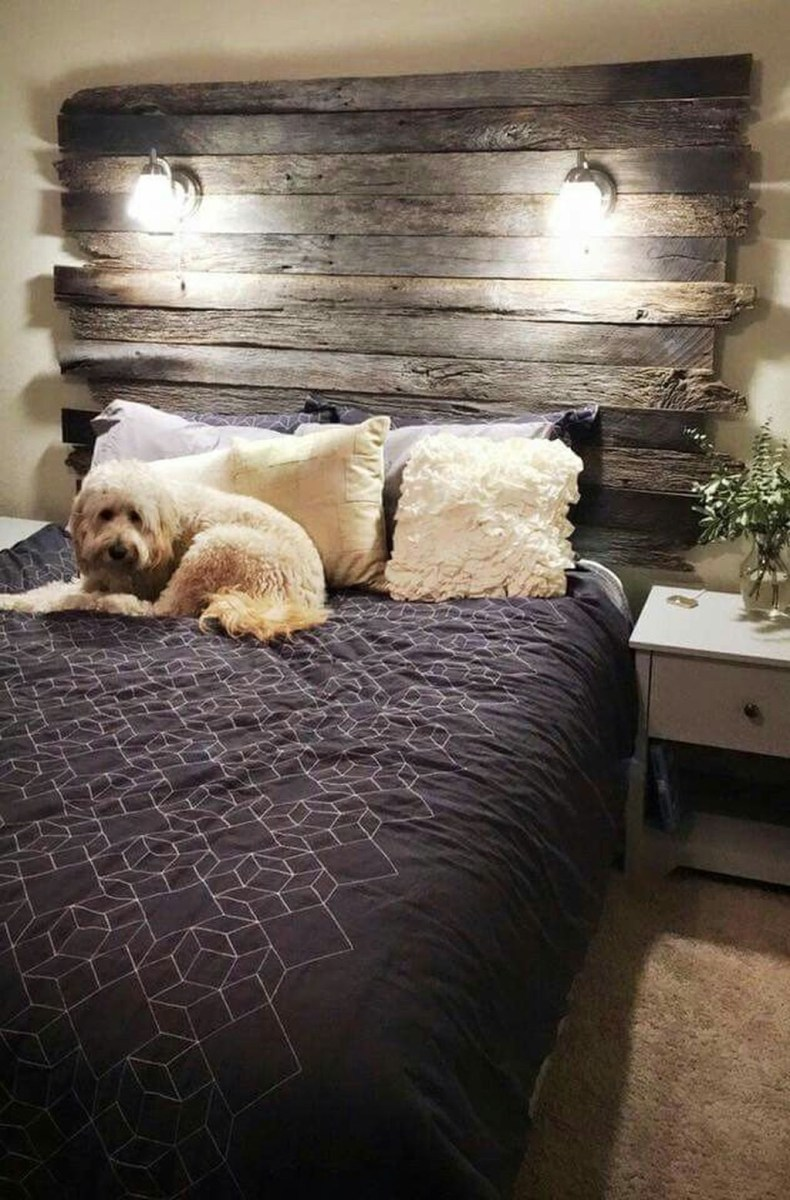 Fancy Diy Ideas To Make Bed Place From Pallet Project 27