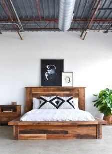 Fancy Diy Ideas To Make Bed Place From Pallet Project 47