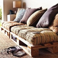 Fancy Diy Ideas To Make Bed Place From Pallet Project 48