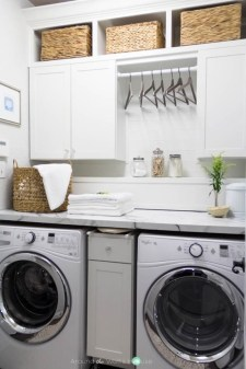 Fascinating Small Laundry Room Design Ideas 11
