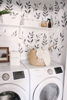 Fascinating Small Laundry Room Design Ideas 13
